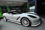 German Tuner GeigerCars Goes for Whiteout Look on their Corvette Stingray