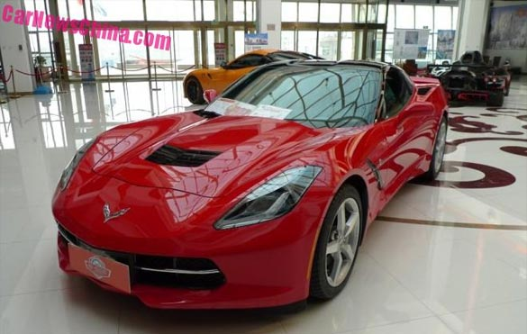 Corvette Stingrays Spotted in China