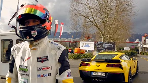 [VIDEO] This is How Corvette Racing's Oliver Gavin Arrived at the Geneva Motor Show