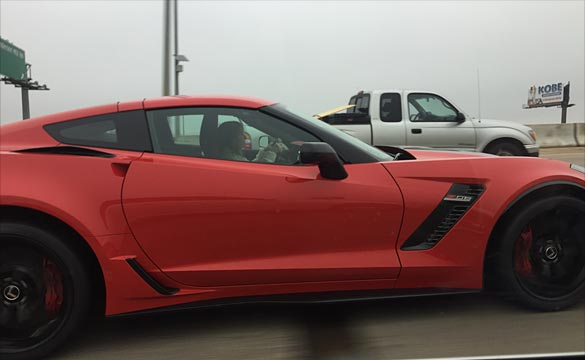 [PICS] Little Old Lady Driving a 2015 Corvette Z06 Slow in the Fast Lane