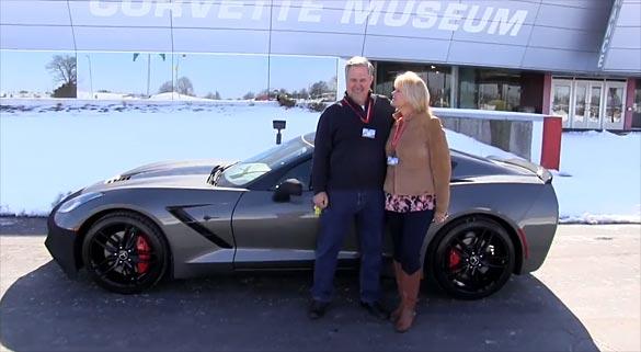 The National Corvette Museum Celebrates Milestone 10,000th R8C Corvette Delivery
