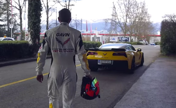 [VIDEO] Corvette Racing's Oliver Gavin Leaves Geneva - One Step Closer to Le Mans