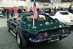 The Significant Corvettes of the Past Display at Detroit Autorama