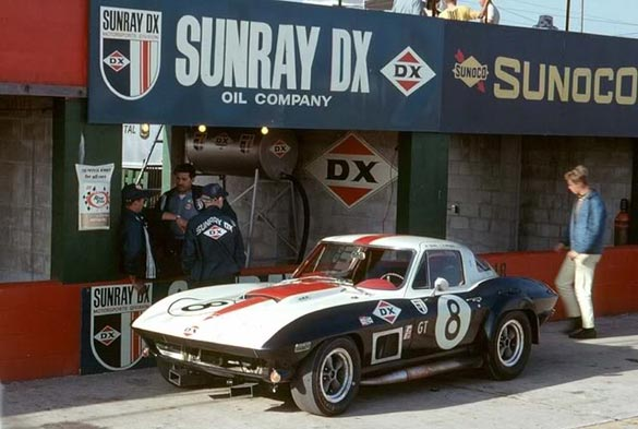 1967 GT Class-Winning Corvette Returns to 2015 Sebring in Gallery of Legends Display