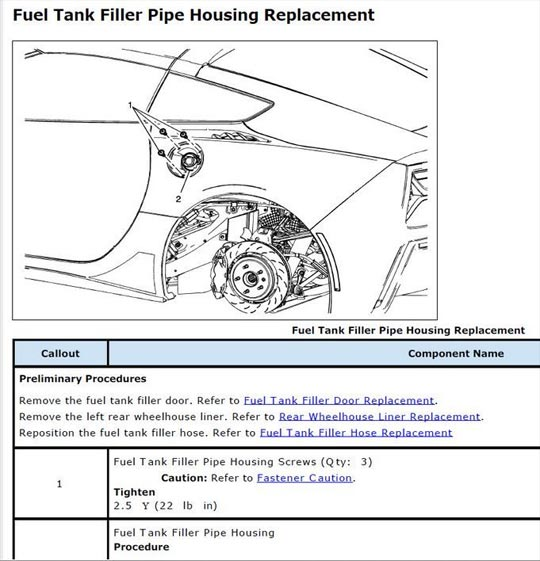 2014 Corvette Stingrays Recalled for Misaligned Fuel Fill Pipe