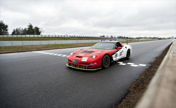 First Corvette Races Competitively at the Corvette Museum's Motorsports Park