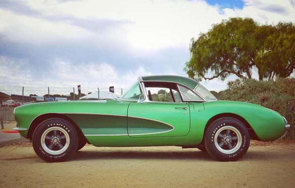 All Corvettes are Green on St. Patrick's Day