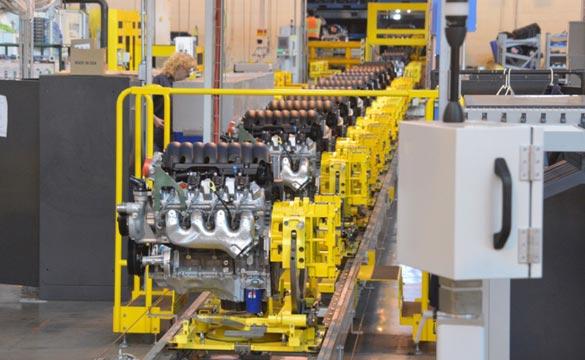 Chevrolet Corvette Powertrain: Performance Starting on the Plant Floor