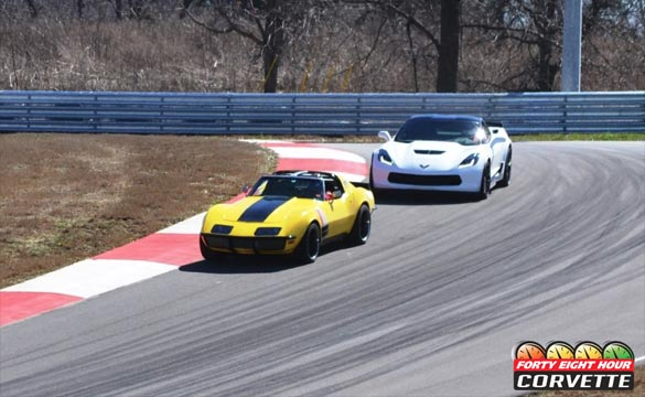 The '48 Hour Corvette' Hits the Track at the Corvette Museum's Motorsports Park