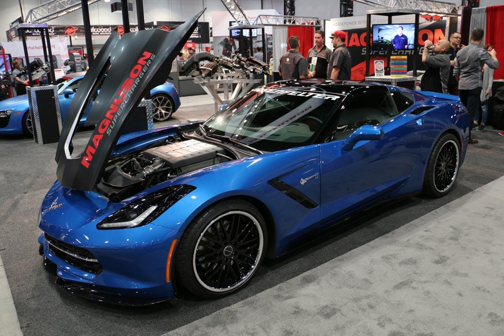 Corvettes on eBay Supercharged 2014 Corvette Stingray Premiere