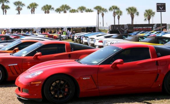 Corvette Vanity Plates from the 12 Hours of Sebring Corvette Corral