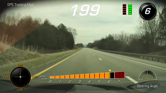 [VIDEO] 199 MPH in a 2015 Corvette Z06
