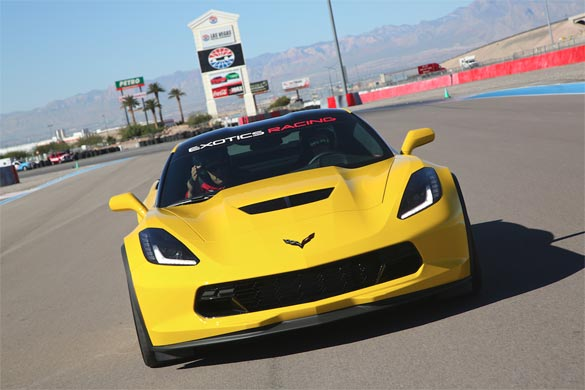 Drive the new Corvette Z06 at Exotics Racing in Las Vegas
