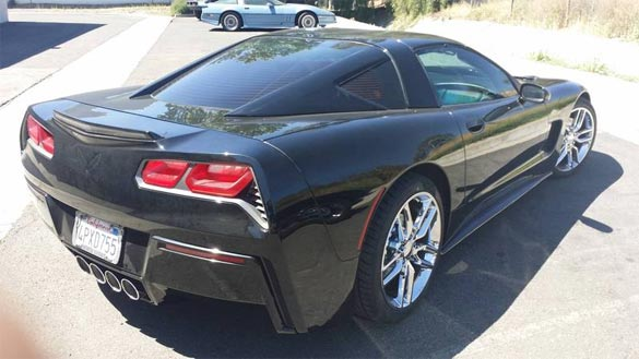 C5 Corvette Receives a Rear Fascia Transplant from a C7 Corvette Stingray