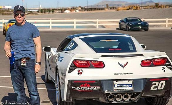 Comedian Jeff Dunham Drives the Corvette Stingray at Spring Mountain Motor Resort