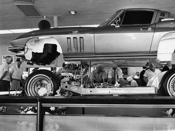 1965 Cut-Away Corvette Autorama Display