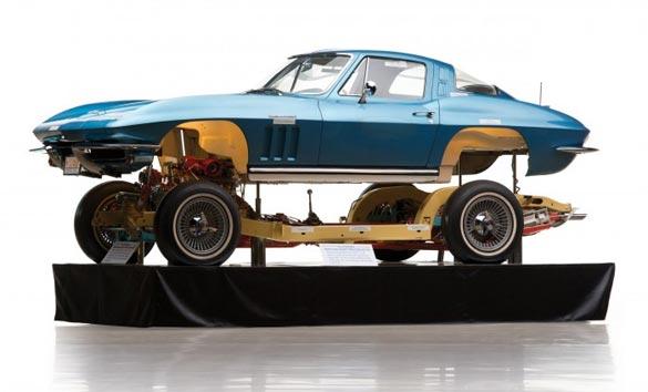 1965 Corvette Autorama Display