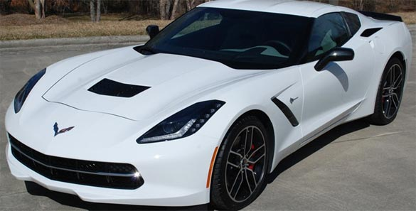 Win Dale Jr.'s 2015 Corvette Stingray