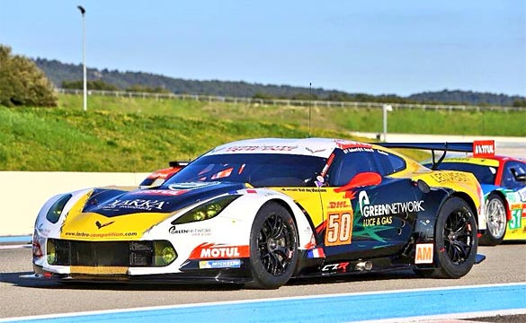 Watch Larbre Competition's Corvette C7.R Make Its FIA WEC Debut at Silverstone on Sunday