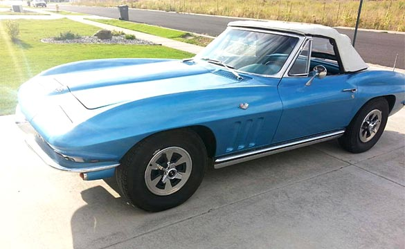 [STOLEN] 1965 Corvette Stingray Stolen from Usk, Washington