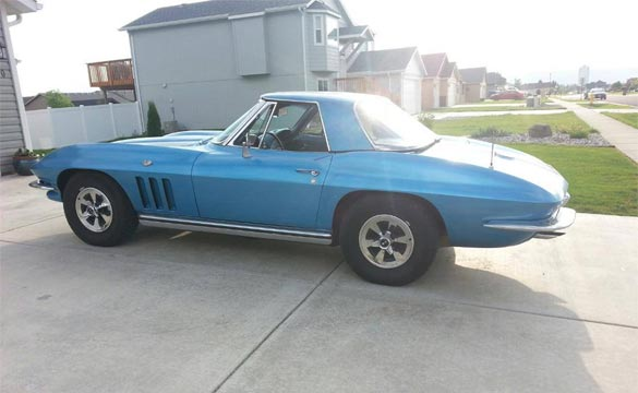 1965 Corvette Stingray Stolen from Usk, Washington