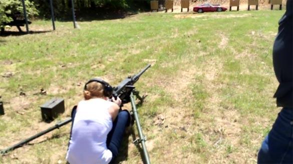 [VIDEO] North Texas Viper Club Blows Up a C4 Corvette with Tannerite and a .50 Caliber Machine Gun