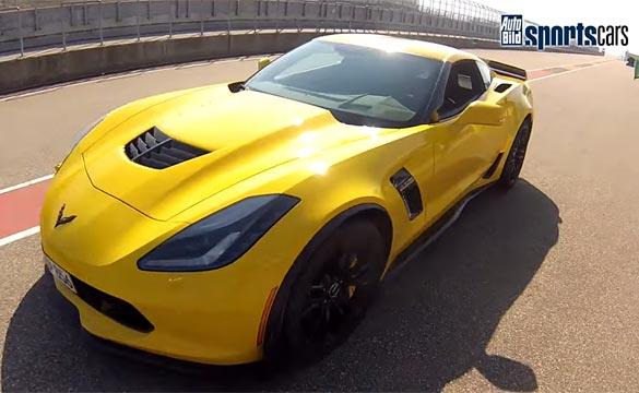 [VIDEO] Corvette Z06 Hits 190 MPH in High Speed Run