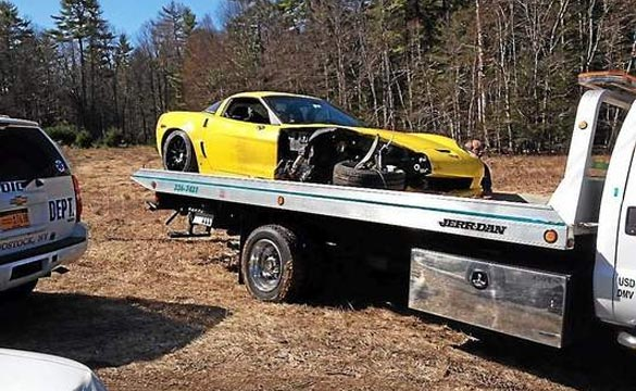 [ACCIDENT] C6 Corvette Crashes in Woodstock, NY