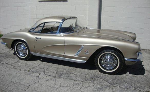 1962 Fawn Beige Corvette