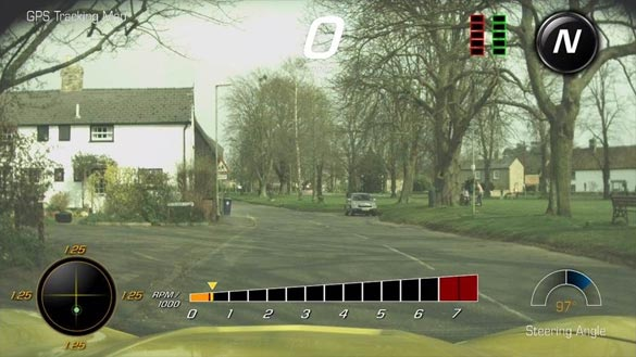 Chevy Aims to Improve the Picture Quality of the Corvette's Performance Data Recorder