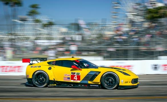 No.4 Corvette C7.R at Long Beach
