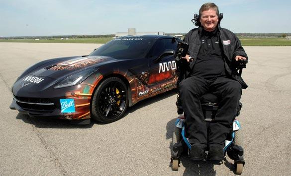 Quadriplegic Racer Sam Schmidt to Drive Semi-Autonomous Corvette on Long Beach Grand Prix Course