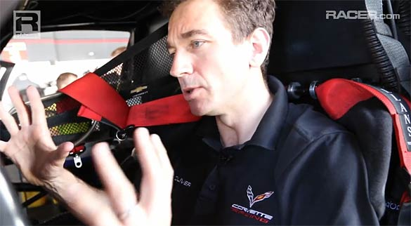 [VIDEO] Corvette Racing's Oliver Gavin Gives a Tour of the Corvette C7.R Cockpit