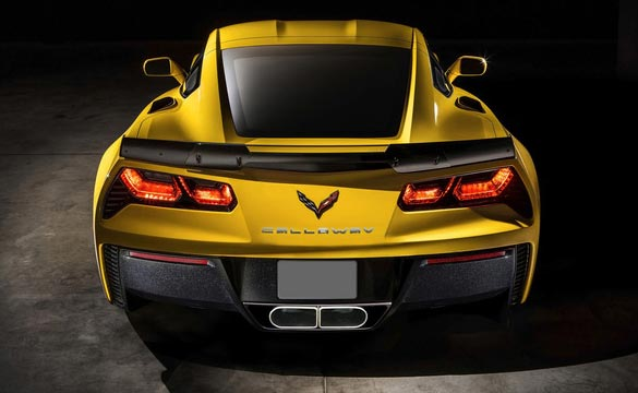 The Callaway Corvette Z06 is Set to Debut at the Corvette Museum's Bash