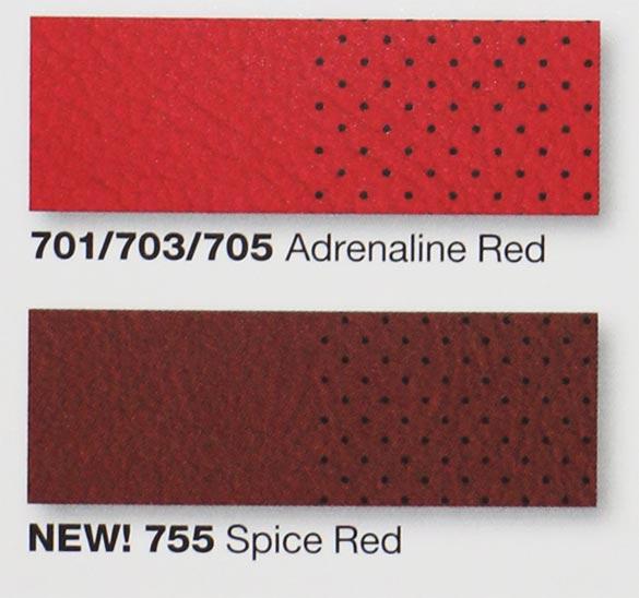 2016 Corvette Color - Spice Red Interior