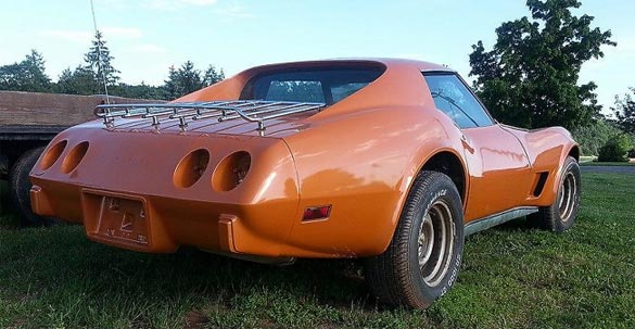 [STOLEN] Family's 1977 Corvette Stolen from Private Garage in Maryland