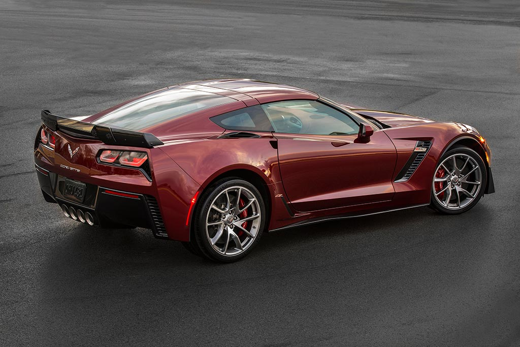 2016 corvette spice red design package - 2015 Corvette Stingray Matte Black