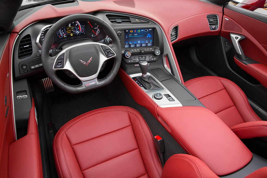 2016 Corvette Spice Red Design Package ...