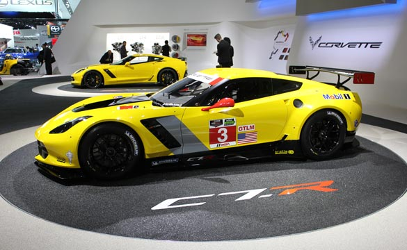 Corvette Z06 and C7.R at the 2014 NAIAS