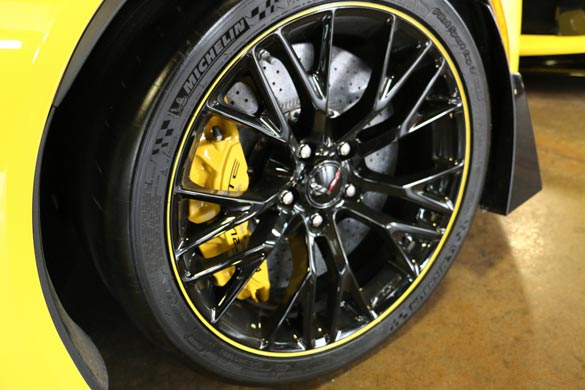 2016 Corvette C7.R Edition Wheel
