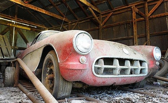 1957 Corvette Barn Find