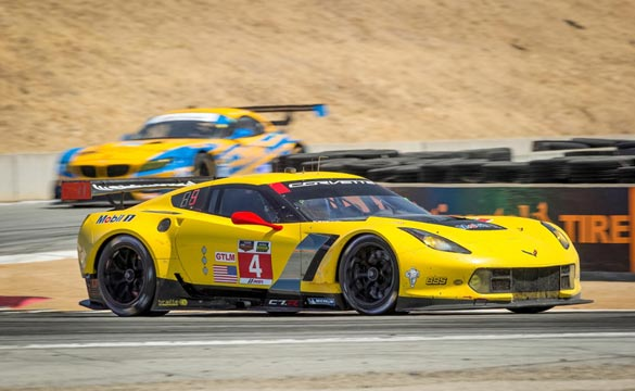 Corvette Racing at Laguna Seca:  Diappointing 6th and 7th Place Finish for Corvette C7.Rs