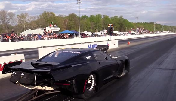 [VIDEO] 3,500 HP Stingray Outlaw Racer is Meanest C7 Corvette We've Ever Seen
