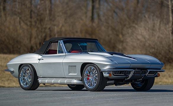 1967 Corvette Restomod with C7 Stingray's LT1 Engine will Star at Mecum's Indy Auction