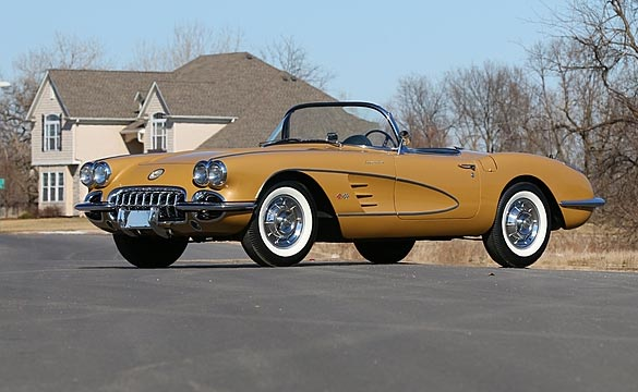 Unique Golden Anniversary 1958 Corvette to Cross the Block at Mecum Indy