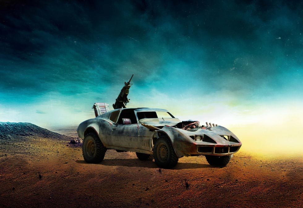 PIC] This Post-Apocalyptic C3 Corvette will be in Mad Max: Fury Road ...