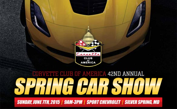 Corvette Club of America Hosting 42nd Annual Corvette Show at Sport Chevrolet