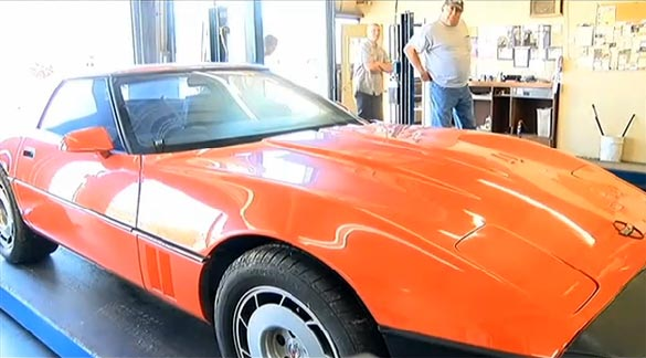 [VIDEO] Arsonist Fails to Set Oil Change Shop on Fire by Torching a C4 Corvette
