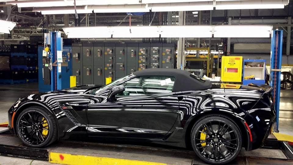 pics here is general motors ceo mary barras new 2015 corvette z06 convertible - Corvette 2015 Z06 Black