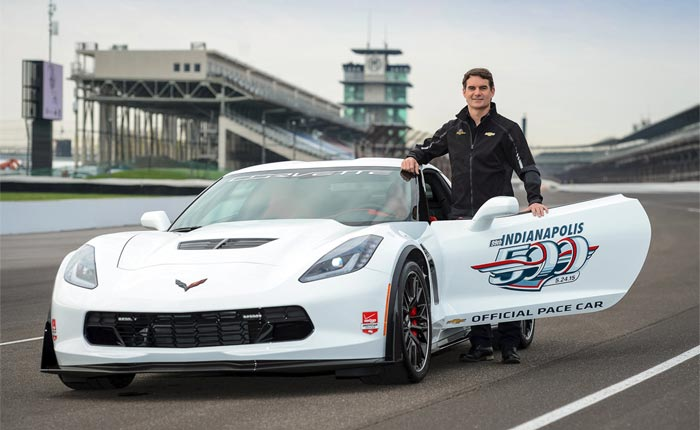 [VIDEO] Jeff Gordon Drives the 2015 Corvette Z06 Indy 500 Pace Car